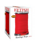 FETISH FANTASY SERIES BONDAGE ROPE RED 60.96 METERS 603912279597