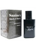 SANINEX BLACK IS BLACK SCENT FOR MEN WITH PHEROMONES 8984686901962
